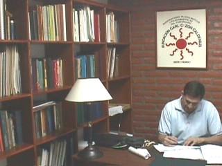 Sala de Recepción y Biblioteca